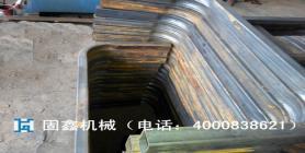 拖拉机防翻架弯管 4060矩形方管弯管 长沙固鑫4000-838-621
